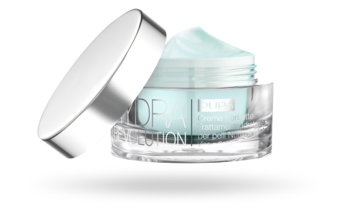 Hydra Revolution Sorbet Cream Moisturizing Treatment for Normal-Combination Skin - PUPA Milano