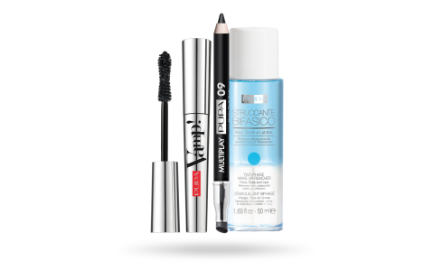 Kit Vamp! Mascara & Mini Multiplay & Two-Phase Make-up Remover - PUPA Milano