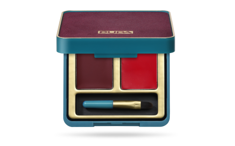 Retro illusion Lip Palette