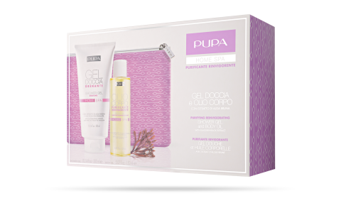 Shower Gel and Body Oil Purifying Reinvigorating - PUPA Milano
