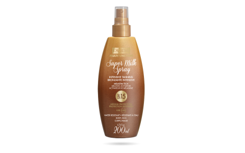 Super Milk Spray Intensive Tanning SPF 15 - PUPA Milano