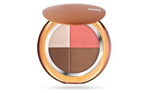 4Sun All in One -  Compact Bronzing Powder + blush + highlighter