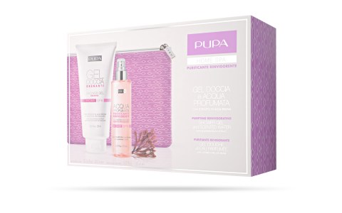 Shower Gel and Scented Water Purifying Reinvigorating - PUPA Milano