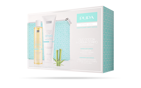 Shower Oil and Body Cream Toning Anti-Fatigue - PUPA Milano