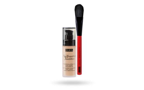 Kit No Trasfer Foundation & Foundation Brush