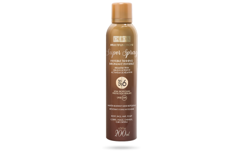 Super Spray Invisible Tanning SPF 6 - PUPA Milano