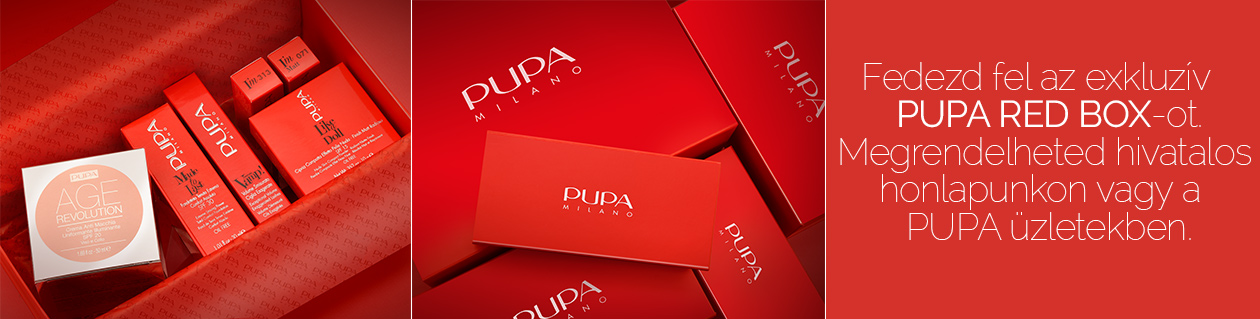 PUPA Red Box