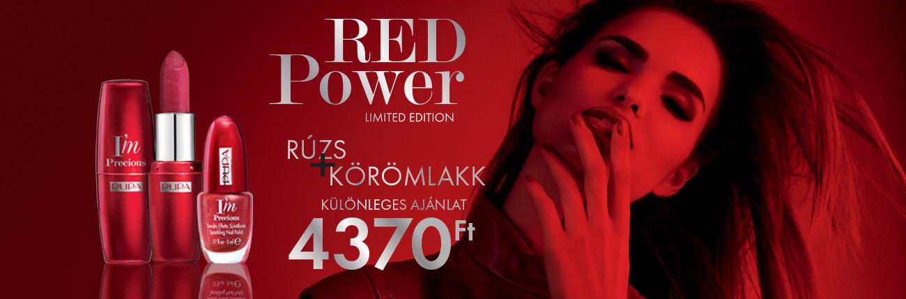 Red Power Akció - PUPA Milano