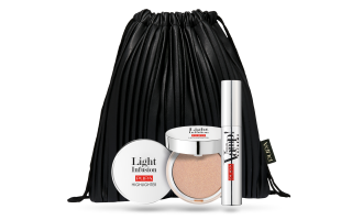 Vamp! Extreme Mascara + Light Infusion - Face Highlighter