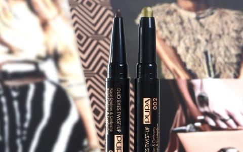 Savanna Duo Eyes Twist-Up Kajal-Eyeliner & Eyeshadow