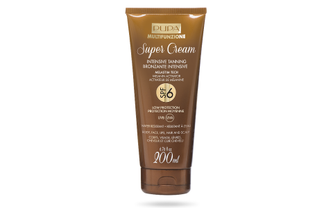 Super Cream   Intensive Tanning SPF 6
